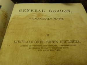 1901 Biography of General Gordon