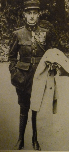 Georges Guynemer just before he went missing in action in September 1917.