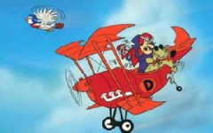 Dick Dastardly's copy-cat plane and unreasonable victimisation of birds did much to tarnish Richthofen.