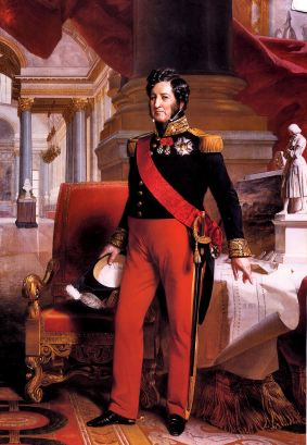 Louis Philippe wore trousers like some sort of common bankers or merchant-millionaire.