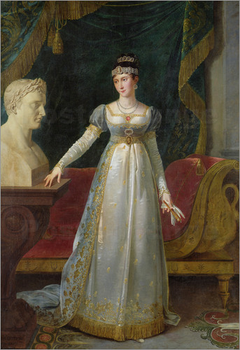 Pauline's high maintenance look required many hours and many servants, plus heaps of cash.