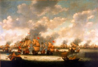 The Four Days' Battle resulted in a mild victory for the Dutch.