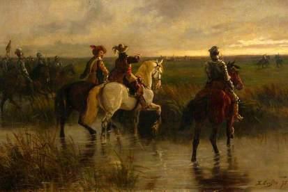Rupert riding