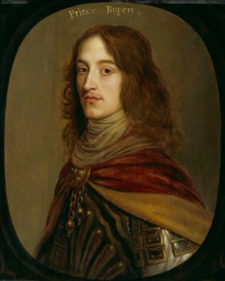 That portrait of Rupert by Gerrit van Honthorst that makes me go all swoony.