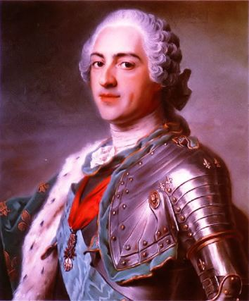Louis XV: Hot, but really boring.