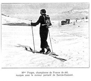 santos skis
