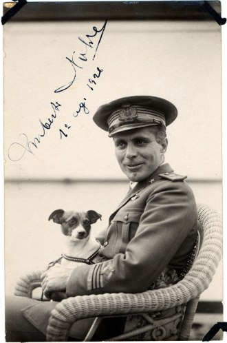 Umberto Nobile and his dog, Titina were at the cutting edge of dirigible design.