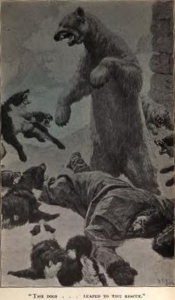 Illustration from Wellman's book about himself.