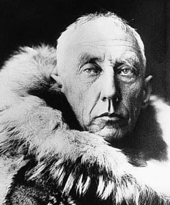 Amundsen's famous death stare: just one of his super powers.