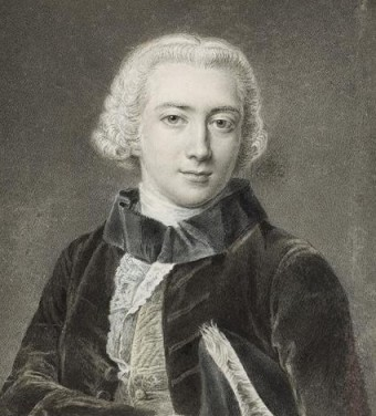 D'Eon as a young man.